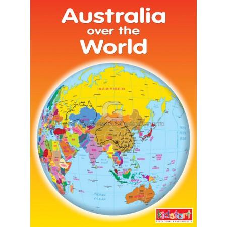 World Map Envelope