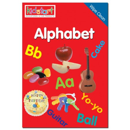 The Alphabet Wipe Clean Mini Book Cover