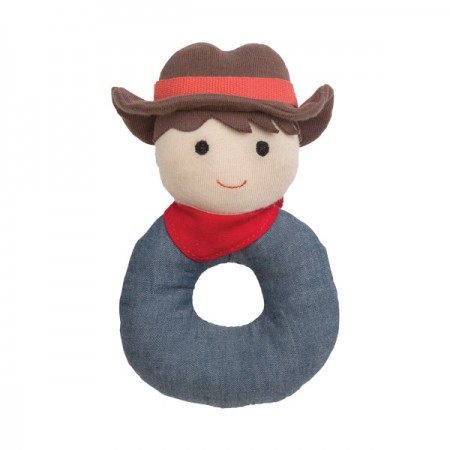 Barnyard Billy Organic Rattle