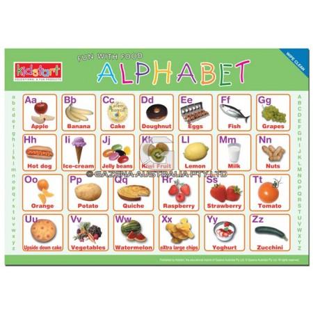 Alphabet Placemat front