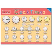 Clock Times Placemat