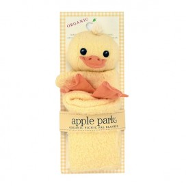 Ducky Blankie Back Card