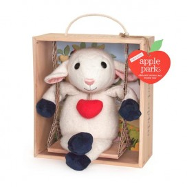 Lamby Swinging In Crate