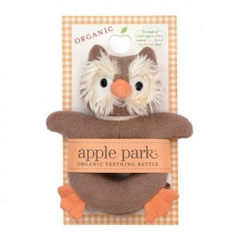Owl Soft Rattle