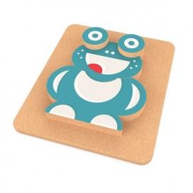3D Frog Puzzle