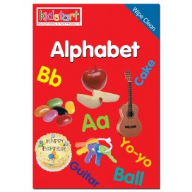 Alphabet Wipe Clean Book