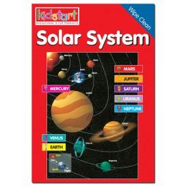 Solar System Wipe Clean Book