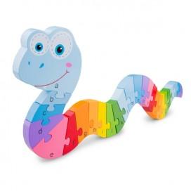 Rainbow Serpent Puzzle