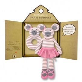 Ballerina Mouse Organic Gift Set