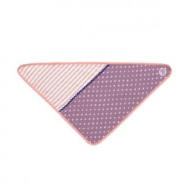 Purple Polka Dots Bandana