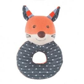 Frenchy Fox Organic Rattle