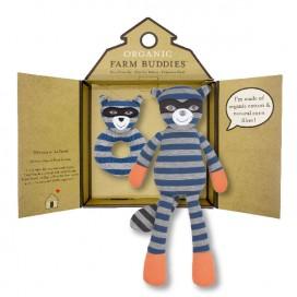 Robbie Raccoon Organic Gift Set