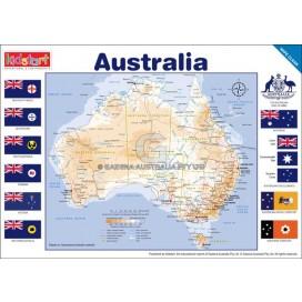 Australia Map Placemat