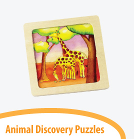 animal discovery puzzles