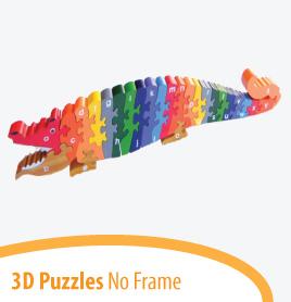 no frame puzzles