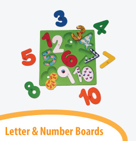 letter number boards