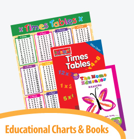 educational charts and books