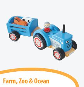 farm zoo and ocean