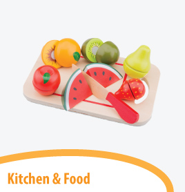 kitchen and food play theme