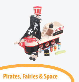 pirates fairies and royalty